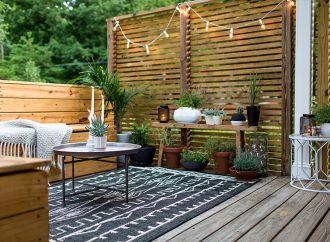 Comment aménager une terrasse de 20m2 ?